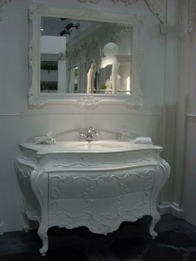 Old dresser into a sink