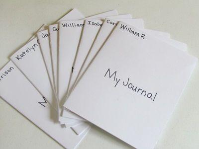 Ten tips for Journals in Preschool by Teach Preschool