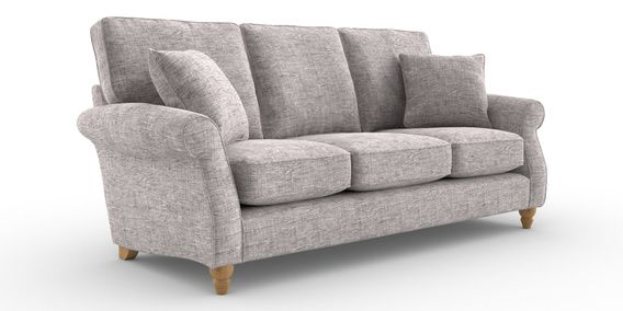 Magnificent Buy Ashford Large 3 Seater Sofa 3 Seats Boucle Weave Light Alphanode Cool Chair Designs And Ideas Alphanodeonline
