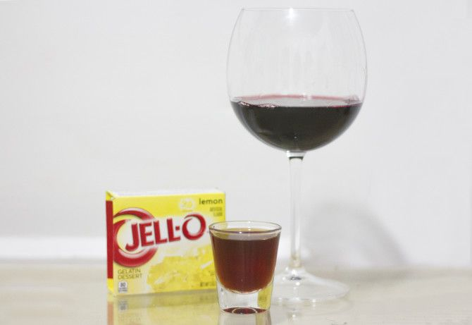 Class up your next party: Red Wine Jello Shots