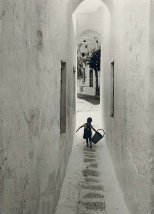 "David ""Chim"" Seymour (1911-1956)  Mykonos, Greece, 1951"
