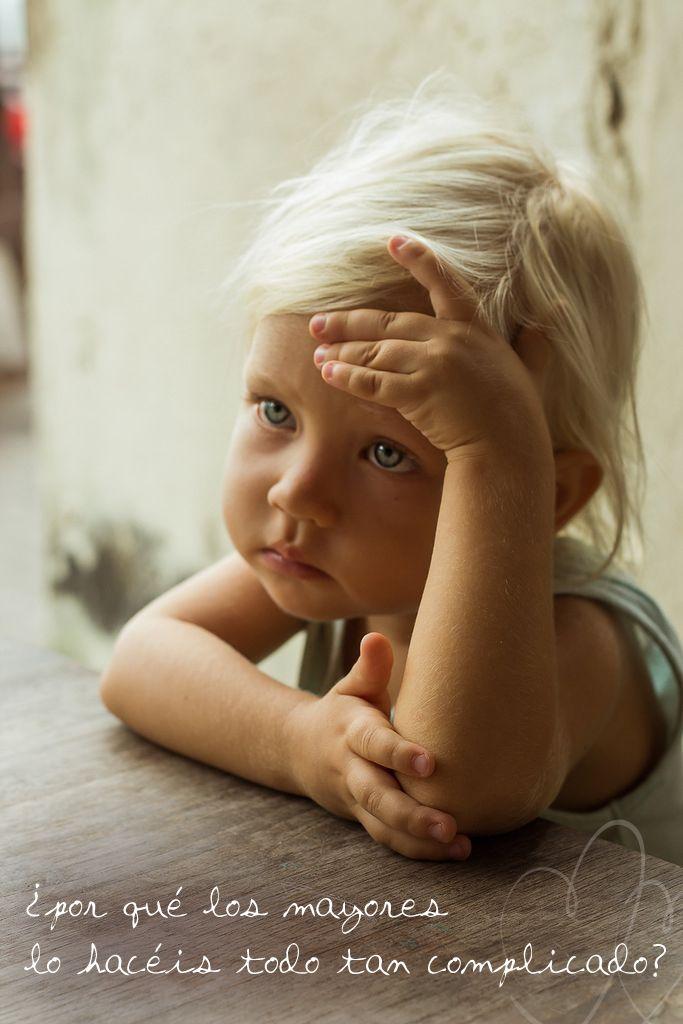 ....la mirada poderosa de los niños