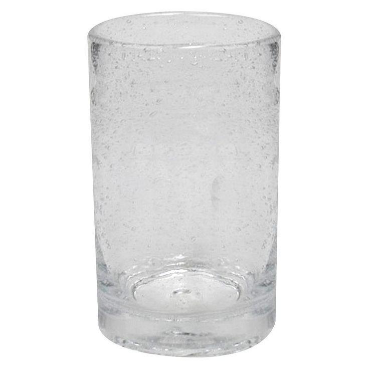 Artland Bubble Glass Tumblers Set of 6 - Clear (17 oz.)
