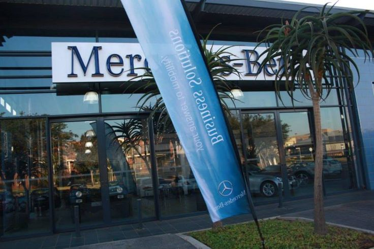 Start of event at Mercedes-Benz