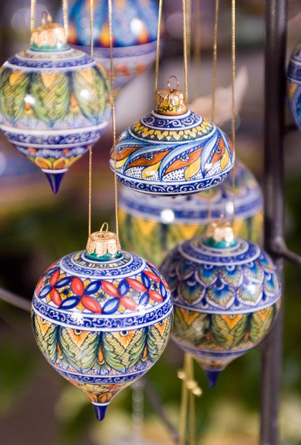 Since all souvenirs must also be functional...Christmas ornaments...