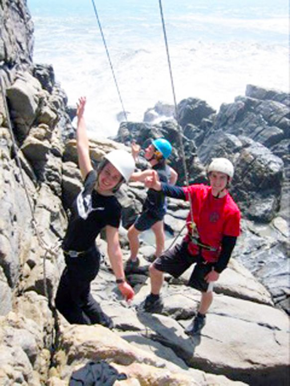 Westland High School rock climbing takes our students to learn about themselves. www.westlandhigh.school.nz  Follow us on Facebook: https://www.facebook.com/whs.international and on Twitter WestlandHS_NZ