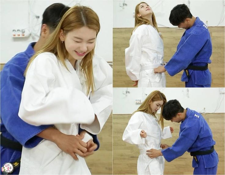 Mad Town's Jota makes Kim Jin Kyung blush on 'We Got Married' | http://www.allkpop.com/article/2016/05/mad-towns-jota-makes-kim-jin-kyung-blush-during-judo-on-we-got-married