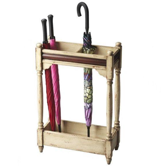 Butler Stanton Umbrella Stand in Vanilla #smallwoodcrafts ...