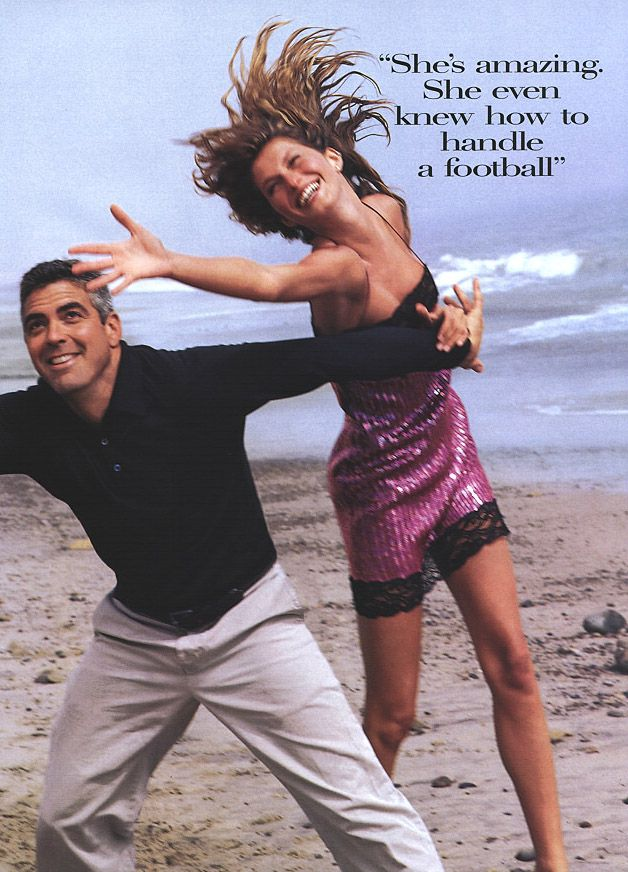 George Clooney & Gisele Bundchen | Photography by Herb ...