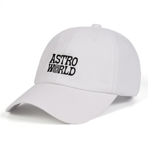 Travi  Scott ASTROWORLD Dad Hat latest album 100% Cotton Snapback Hat  embroidery Astroworld Baseball Caps Unisex Travis Scott 332a48ac4838