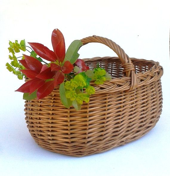 GENUINE FRENCH Shopping Basket AUTHENTIC by FrenchMarketFinds, €49.00