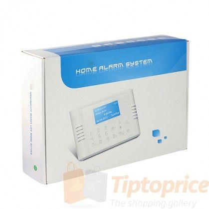 Sistema de alarma de seguridad  GSM + PSTN (900 / 1800,850 / 1900Mhz)