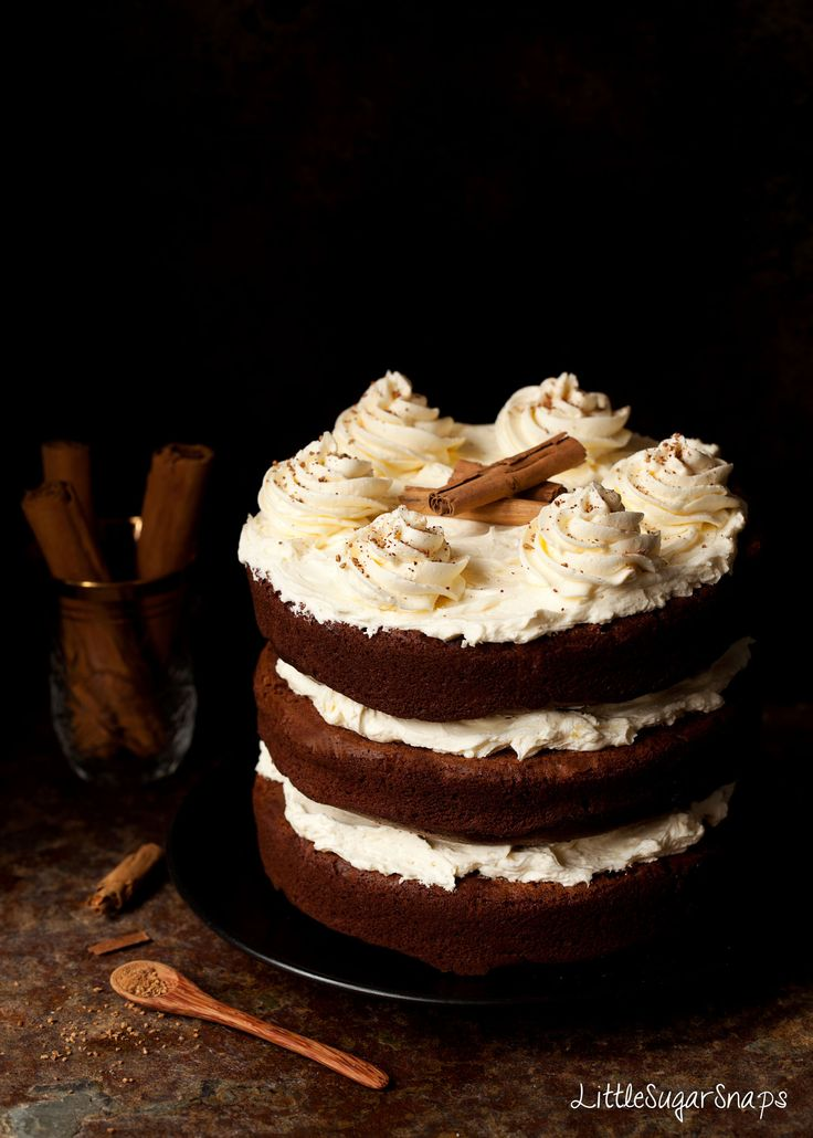 Intensely chocolatey with a hint of spice this fudgy Cinnamon Chocolate Cake pairs well with the piquant, mellow sweetness of salted honey buttercream.