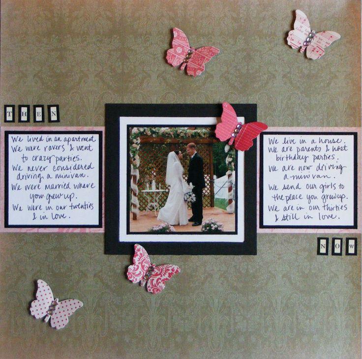 Wedding Scrapbook Page Ideas Wedding Scrapbook Pages