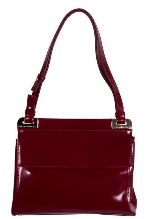 Chic Red Shoulder Bag from RB    #GBmoda #AbuDhabi #Fashion #Roccobarocco