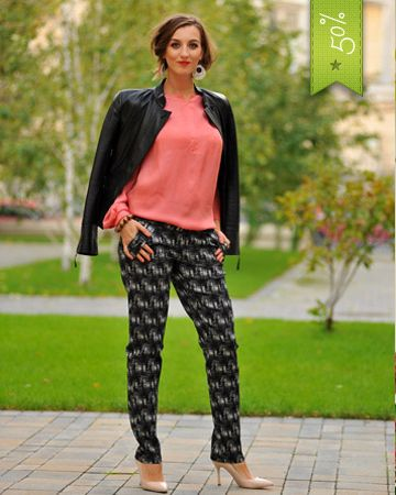 Colors of Love - Spellbound Pants The masculine elegant line adjusted on the eternal feminine charm