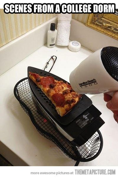 College dorm cooking…