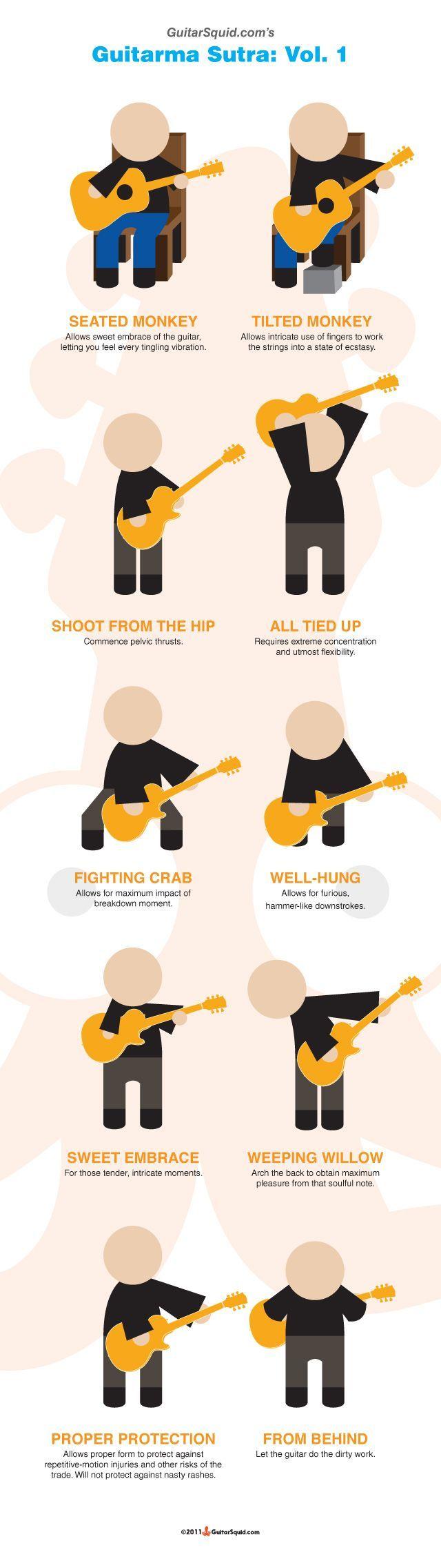 OMG! The Guitarma Sutra! | Guitar Fail