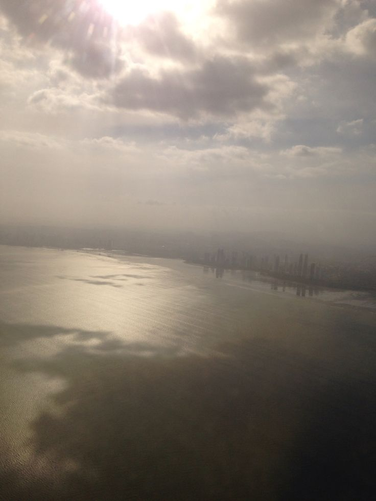 Llegando a Panamá