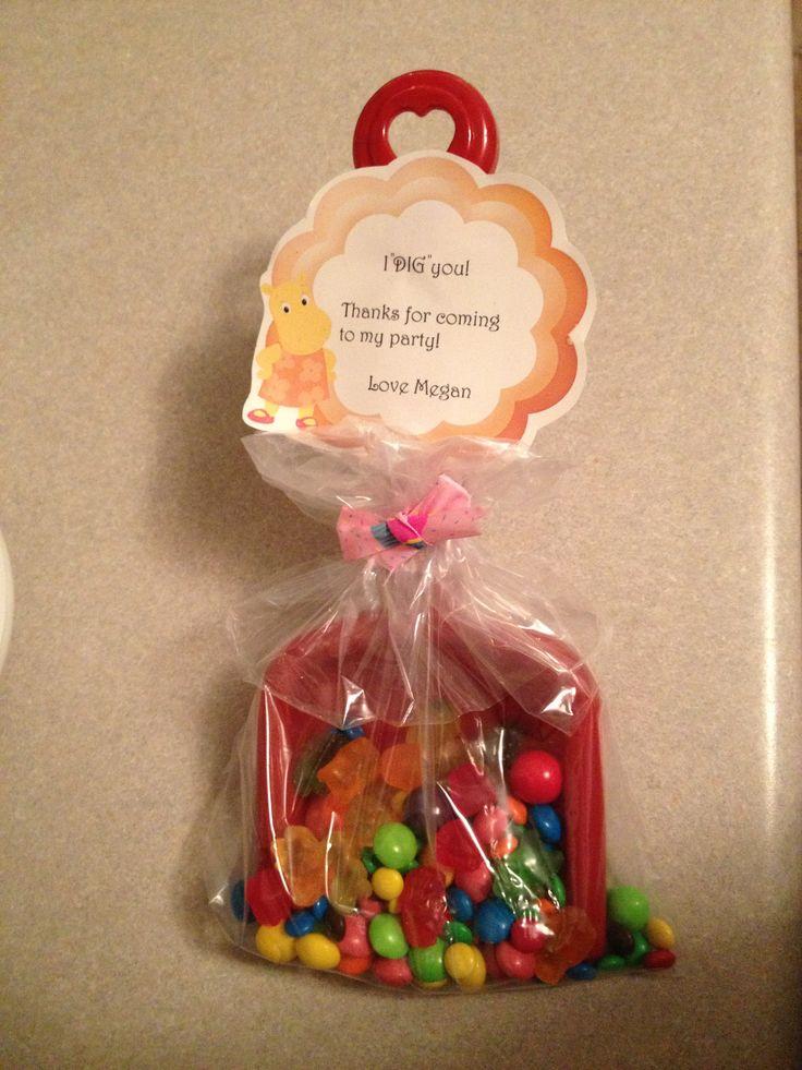 Loot Bag Idea Candy Shovel I Quot Dig Quot You Party Ideas