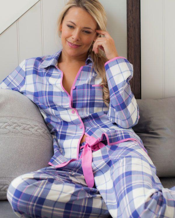 Betsy Twill Check Pyjamas