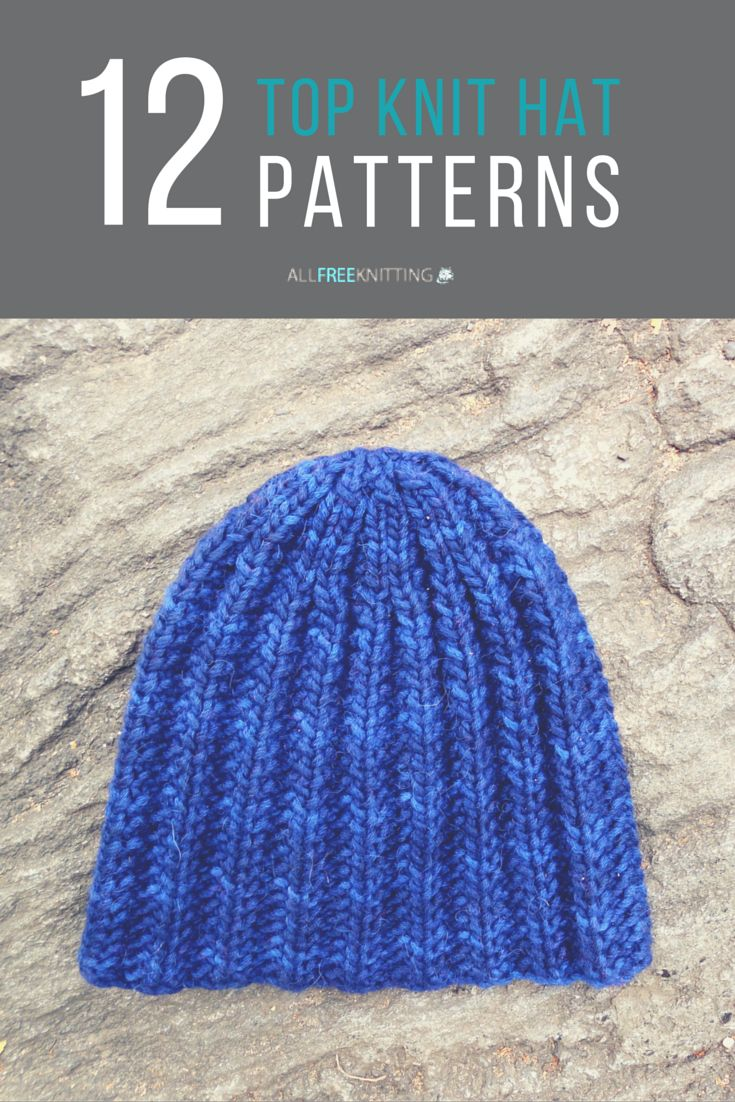 12+ Top Knit Hat Patterns Ever Warm, Knit hats and Knit beanie