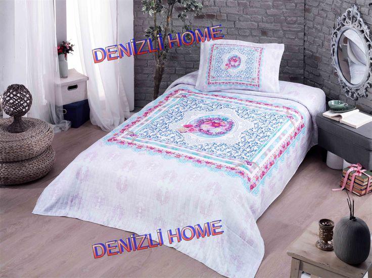 EVİM HOME 3D DİJİTAL BASKILI GENÇ YATAK ÖRTÜSÜ - April    1 Adet 180 x 250 cm Yatak Örtüsü  1 Adet 50 x 70 cm Volanlı Yastık Kılıfı