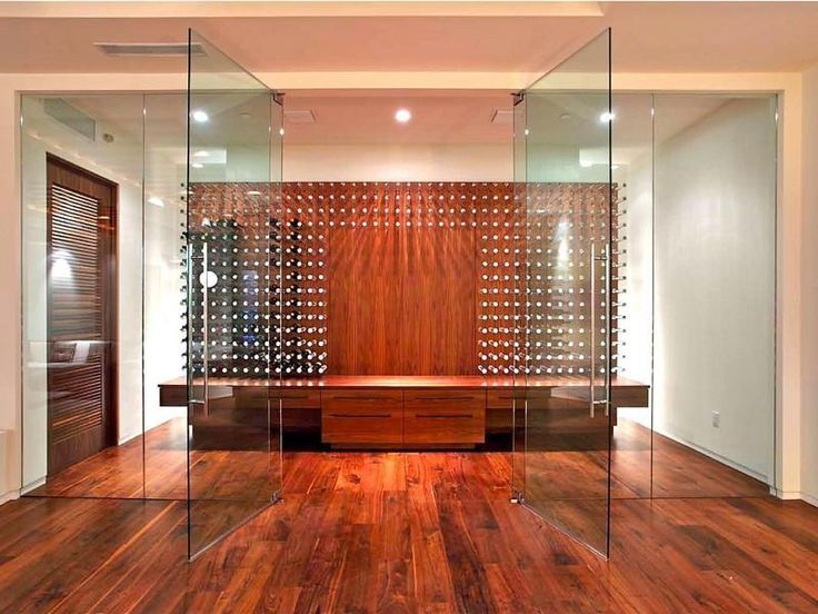 Custom wine room doors... wine wednesday would become wine tuesday...wine monday...wine thursday...wine friday...you get the point