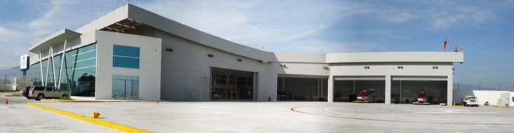 Modernización de la Unidad de Rescate Aéreo Relámpagos y el Hangar de Servicios Aéreos, EDOMEX. Sistema de iluminación exterior, luces de obstrucción, sistema de pararrayos y tierra física, aire comprimido, señalización y sistema contra incendios, conmutador, barda perimetral. En el hangar se mejoró el espacio operativo de aeronaves, con un helipuerto de 3,705 m2; oficinas para 100 personas, caseta de control y estacionamiento para 85 vehículos; gimnasio, área de palapas y comedor p/30…