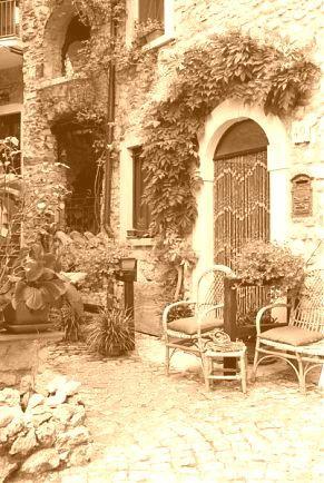 Фотообои Итальянский дворик