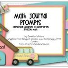 This packet is full of Math Journal prompts that correspond to the Kindergarten enVision Math series by Pearson.  If you do not use this series, yo...
