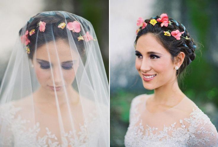 Bridal Beauty - Purple Eye Makeup