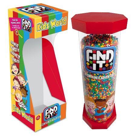 Find It Kids World Hidden Object Game