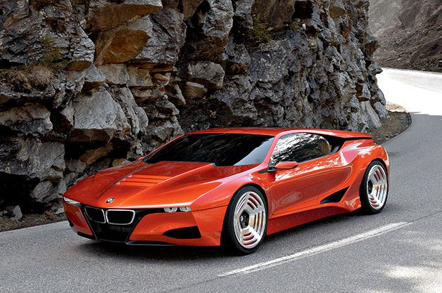 In honor of the 30th birthday, BMW rolled out the new BMW M1 Hommage, a concept/design study that pays tribute to the original M1 and shows what could be possible if BMW were to produce a new mid-engined sports car.