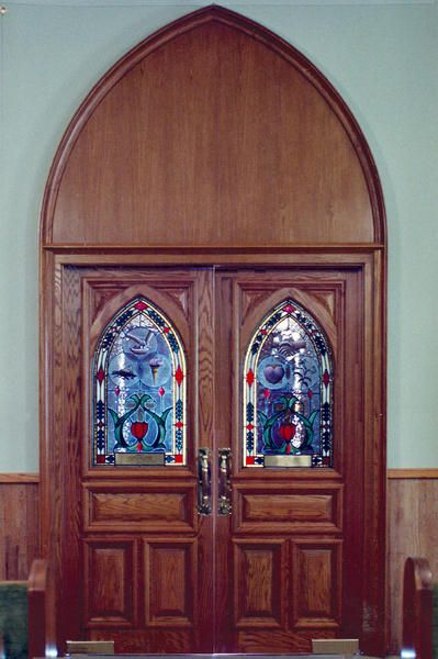 Apologise, swinging church doors sorry