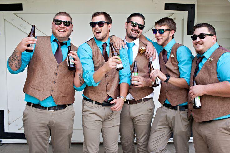 Austin & Chelsea August 15, 2015 Bartley Ranch Reno, NV Madison Lauren Photography Groomsmen getting ready groomsmen attire groom groomsmen toast wedding turquoise rustic wedding