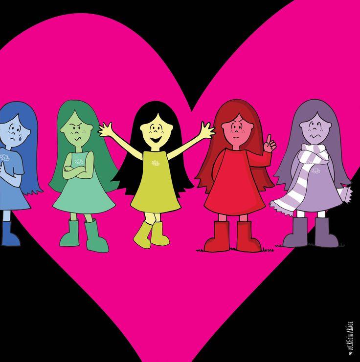 Lux hawaiana!   #lux #muñeca #pink #doll #love #amor #enojo #alegria #tristeza #furia #emotions #emociones #intensamente #insideout #pixar #ilustration #ilustracion ver mas en FB: lux la muñeca