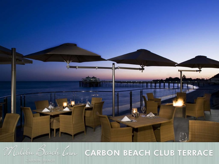 Carbon Beach Club Terrace Beautiful