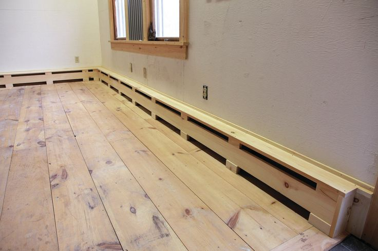 Remodeler Randal Patterson shows how to make simple wooden covers for hydronic baseboard heat.