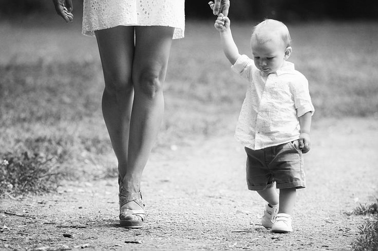 BW baby photography - Klaudia J