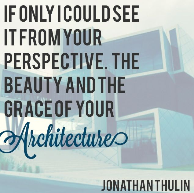 """""""Architecture"""" by Jonathan Thulin.  Check it out on his album, The White Room (Deluxe Edition)."""