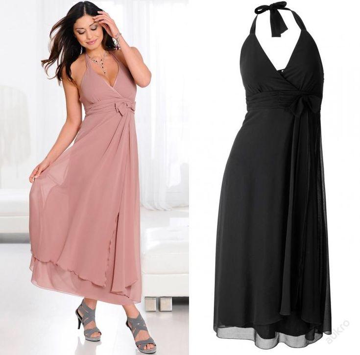 * NOVÉ ,,SPOLEČENSKÉ šaty vel.34,36,38 - 2 barvy :: AVENTE ...móda s nápadem