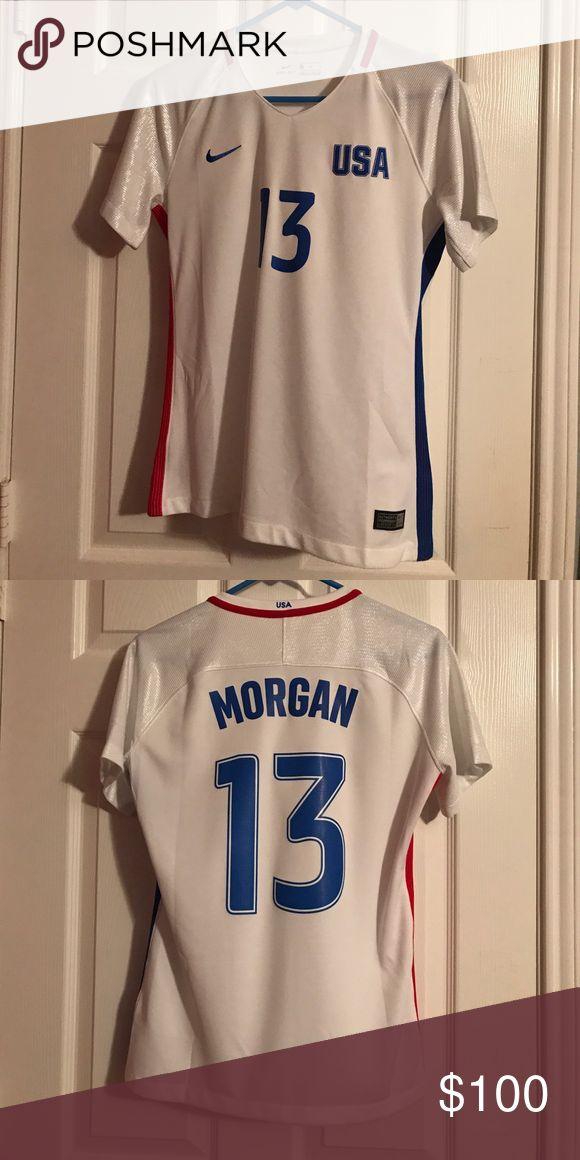 ALEX MORGAN USA JERSEY NIKE DRIFIT Alex Morgan jersey worn once Nike Tops