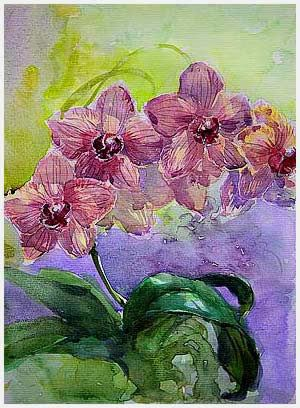 Mingming Bowerson WATERCOLOR