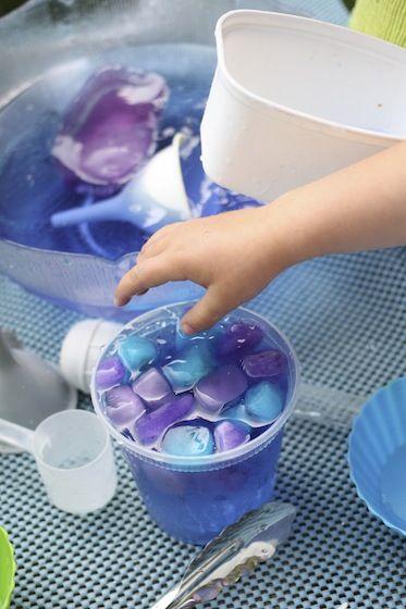 bowl of frozen fractals soup, science activities