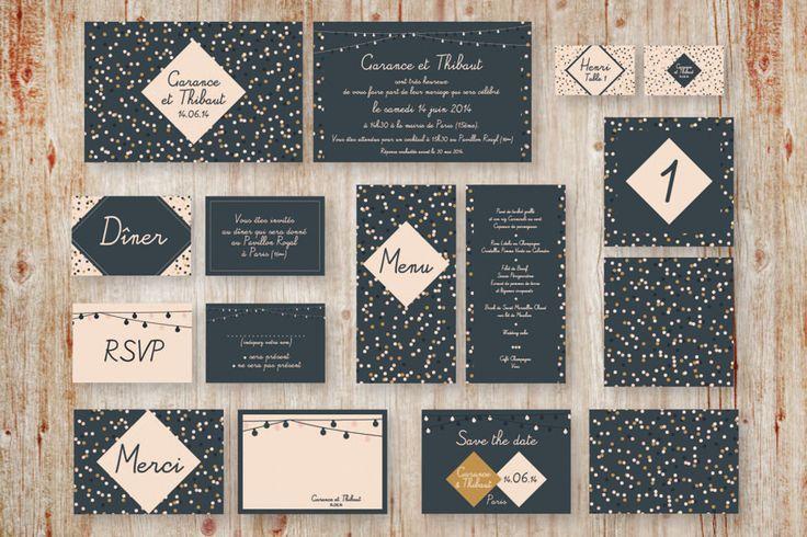 Mon petit faire-part à l'américaine s'inspire du style US pour réaliser ses invitations. Créé par Inès Bourgeois, le site propose des créations aux couleurs vives, jouant sur les typographies, et à l'identité visuelle forte. Le plus? Il est également possible pour les futures mariées de concevoir leur propre faire part de A à Z, guidées par les conseils avisés de la créatrice.  http://www.monpetitfairepartalamericaine.fr/