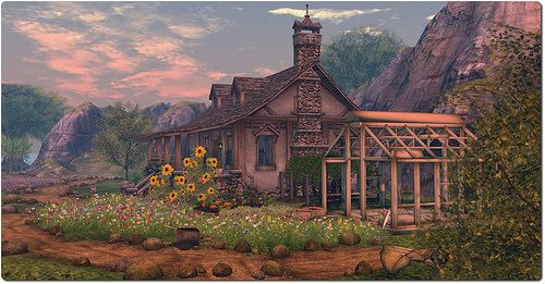 Dawn of Radiance, Lost Forest, August 2014 | House #SecondLife