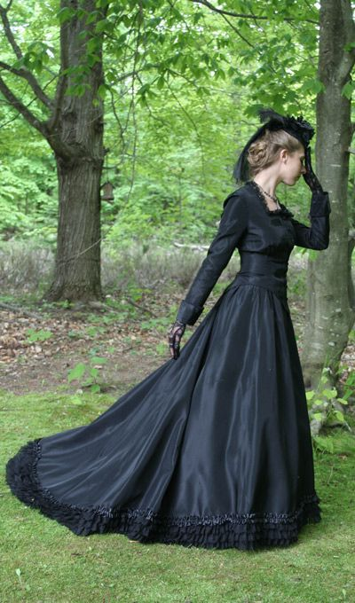 17 Best Ideas About Mourning Dress On Pinterest