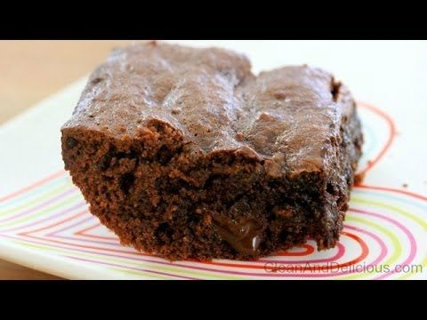 Clean Eating Gluten Free Brownies - Valentine's Day Recipe - YouTube