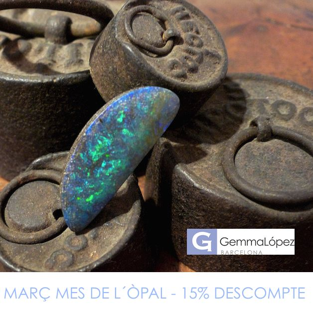 MARCH IS THE OPAL MONTH. GET A 15% DISCOUNT FOR THE PURCHASE OF THE OPAL